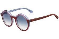 81bfcbf81617 Jimmy Choo  428 Women s Glam Purple Glitter Round Sunglasses
