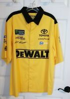 NWT MATT KENSETH #20 Nascar Joe Gibbs Racing Toyota Mac Tools Collared Shirt