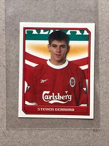 Steven Gerrard Merlin 2000 Premier League 2nd Year Rookie Sticker