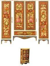 CHM 1//12 scal e2 Victorian Fretwork Curio Shelf