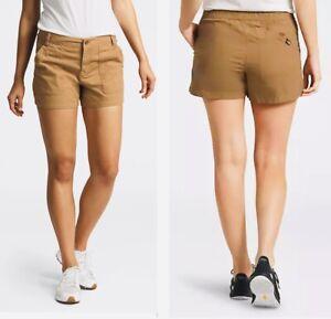 THE NORTH FACE Women's  Ridgeside Cargo Shorts Size 2 Khaki NEW $45.00