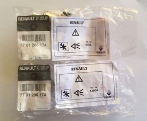2 X Peugeot Citroen Renault AL4 DPO Auto Transmission Solenoid sensor Orignial