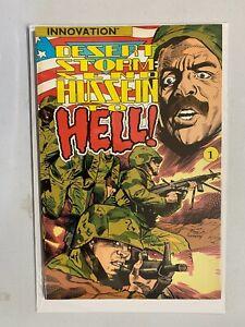 Desert Storm Send Hussein to Hell! Innovation #1 6.0 FN (1991)