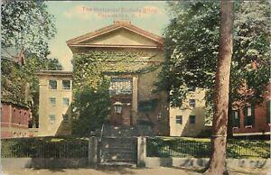 DB postcard, The Historical Society Building, Providence, RI