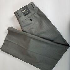 NWT Banana Republic Men's Modern Fit 33x30 Flat Front Gray Pants