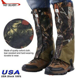 Legging Guard Leg Protection Gaiter Cover Anti Bite Snake Outdoor Hiking Camping