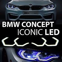 Hexagon ICONIC Angel Eye LED RING KIT for BMW HEADLIGHTS M3 M4 M5 F30 E90 E92