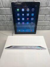 Apple iPad 2 Wi-Fi 3G 16GB Black 9.7in A1396 MC773LL/A  w/ original box AT&T