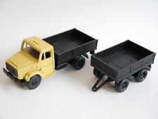 ZIL Sil 4331 Lkw Pritsche platform truck Anhänger trailer, UdSSR USSR Radon 1:43