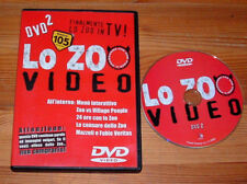 RARO DVD LO ZOO DI 105 VIDEO N°2 DIETRO LE QUINTE MARCO MAZZOLI LEONE DI LERNIA