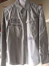 Rebel Spirit Long Sleeved Button Down Shirt size M