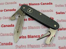 Swiss Bianco Exclusive Victorinox Soldier Dark Gray Alox Swiss Army Knife