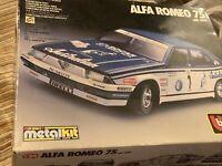 Burago 1:24 5119 Alfa Romeo 75 kit in great condition