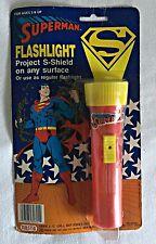 1989 Nasta SUPERMAN FLASHLIGHT S-Shield ~ sealed in factory plastic