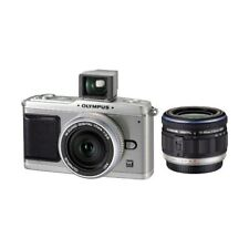 Excellent! Olympus E-P1 12.3MP with 14-42mm + 17mm Silver - 1 year warranty