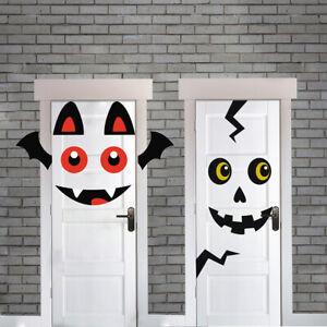Halloween Door Party Decoration Choose Bat or Monster