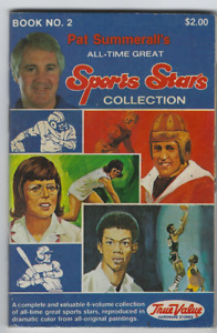 Pat Summerall's All Time Great Sports Stars Collection True Value, Book 2 1981