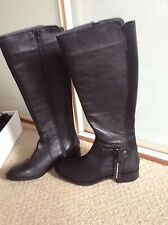 Dorothy Perkins real leather boots size 5 Brand New In Box