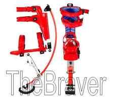 Jumping Stilts spring stilts for kid load range 66-110LBS gift christmas RED