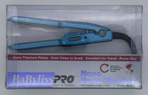 "Babyliss Pro Nano Titanium 1"" Mini Straightening Iron BABNT3053N"