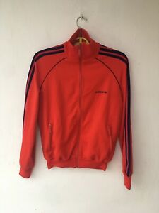 ADIDAS Vintage Rare 80's TRACK JACKET Made in Hungary 🇭🇺 Size S
