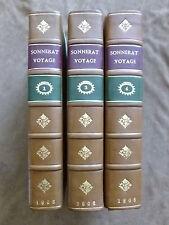 VOYAGE AUX INDES ORIENTALES &  CHINE par ordre de LOUIS XVI. SONNERAT. T.1.2.4.