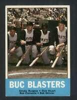 1963 Topps #18 Smoky Burgess/Dick Stuart/Roberto Clemente/Bob Skinner NM/NM+ Pir