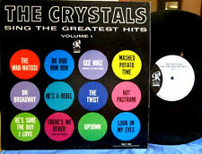 "THE CRYSTALS~ ""GREATEST HITS""~U.S.ORIG. 1962 PHILLIES- ""VG+/VG+""FREE S/H~LP!!!"