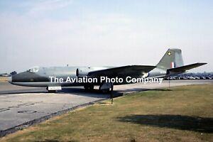 RAF English Electric Canberra PR.7 WT520 at RAF Swinderby (1986) Photograph