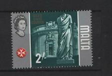 Malta - 1965-70 2/-  Gold framework omitted MNH