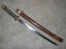 Nice  WW2 JAPANESE SWORD, OFFICERS, GUNTO, OLD BLADE