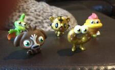 Moshi Monster Moshlings S1 - Oddie (Gold) McNulty, Jeepers (Gold), Coolio,Gurgle