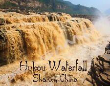 China - Shanxi - HUKOU WATERFALL - Travel Souvenir Flexible Fridge MAGNET