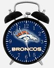 "Denver Broncos Alarm Desk Clock 3.75"" Home or Office Decor E94 Nice For Gift"