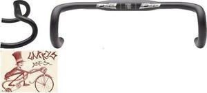 FSA GOSSAMER WING COMPACT 42mm-31.8mm BLACK ROAD DROPBAR BICYCLE HANDLEBAR