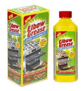Elbow Grease Oven Cleaning Kit x1 Cooker Racks & Grills Glass Kitchen NEW