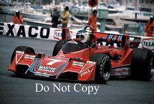 Carlos Reutemann Martini Brabham BT45 Monaco Grand Prix 1976 Photograph 3