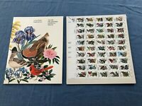 1982 UNITED STATES FIFTY STATE BIRDS AND FLOWERS COMMEMORATIVE MINT SET
