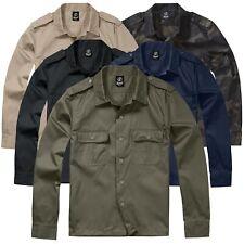 Brandit US Hemd Langarm Army Security Freizeithemd Worker Diensthemd Shirt S-5XL