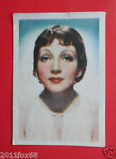 actors acteurs figurine nestle stars of the silver screen #7 claudette colbert f