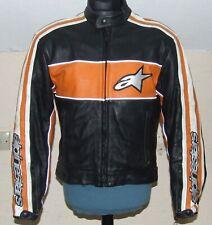 ALPINESTARS Leather Motorcycle Jacket EU50 UK40