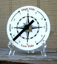 Tide Clock - Atlantic Coast High & Low Tidal Time - Compass Rose - CD - Unique