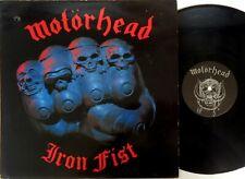 Motörhead – Iron Fist - 1982 Vinyl LP  Bronze UK – BRNA 539