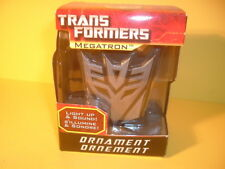 Transformers Megatron Light & Sound Ornament Mint in the Box