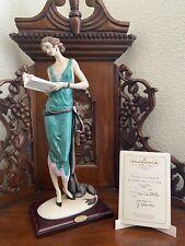 Giuseppe Armani Figurine Lay With Book 0384-C