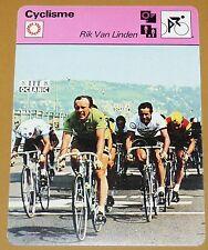 CYCLISME CICLISMO RIK VAN LINDEN TOUR FRANCE GIRO PARIS-TOUR SARDAIGNE BELGIË
