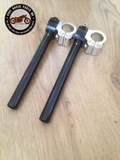 CAFE RACER 36mm MOTORBIKE CLIP ON FORK HANDLEBAR UNIVERSAL FIT HIGH QUALITY CNC