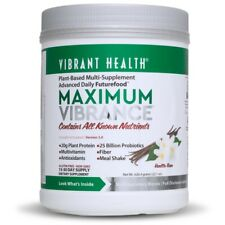 Vibrant Health MAXIMUM VIBRANCE Protein Future Food v4.0 - 22.1 oz VANILLA BEAN