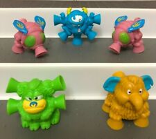 Suction Sucker Rubber Monster Collectables Figures 4cm Rare