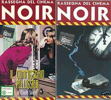 VHS IL COMMISSARIO PELLISSIER - REGIA DI CLAUDE SAUTET - FRANCIA 1971 LIBRETTO
